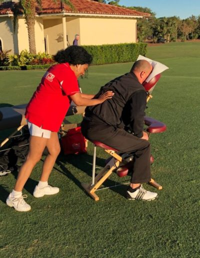 Golf Tournament Massage Services