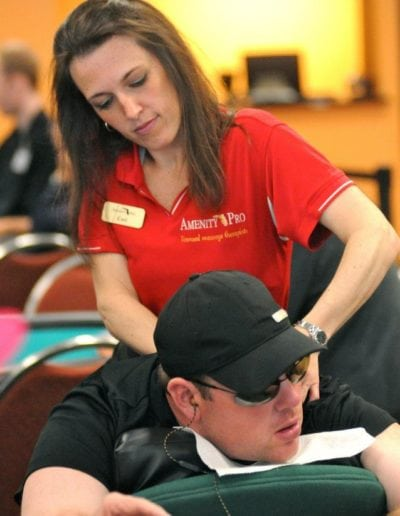 Poker Player Massage Service